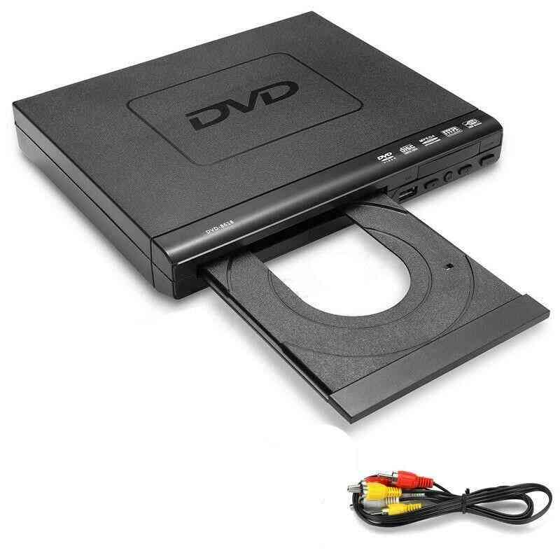 Portable Dvd Player, Evd Player, Multifunctionaldvd Player For Multi-angle Viewing And Zooming