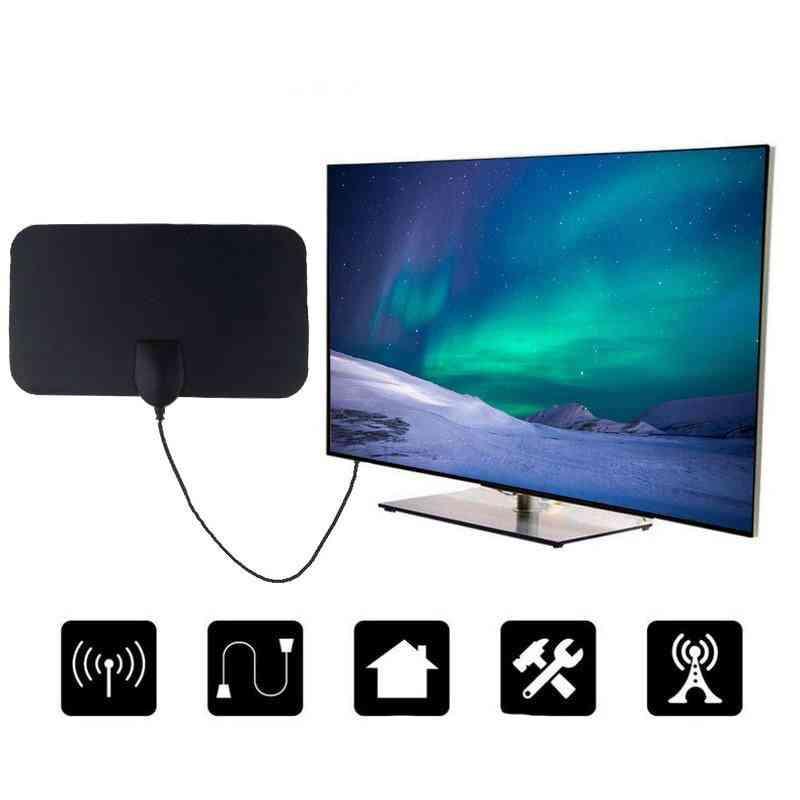 4k 25db High Gain, Hd Tv Dtv Box Digital Tv Antenna