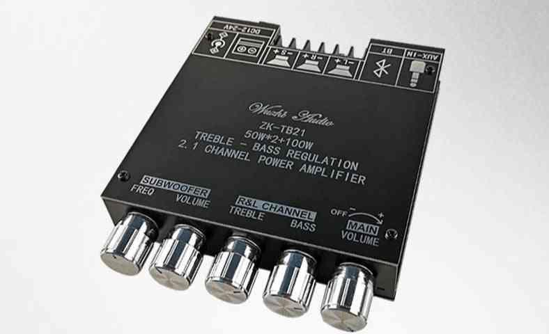 2.1 Channel, Bluetooth 5.0, Powered Amplifier Module