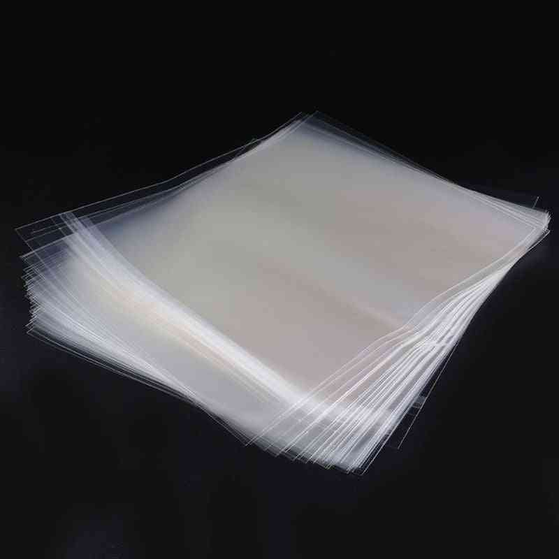 Resealable 4 Mil Plastic Vinyl Record Outer Sleeves For 12'' Lp Gatefold 2lp