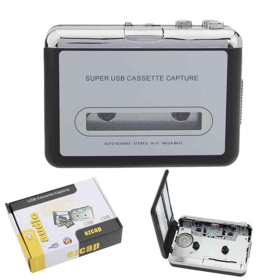 Cassette To Mp3 Converter Capture - Walkman Music Player And Rcorders Convert Music