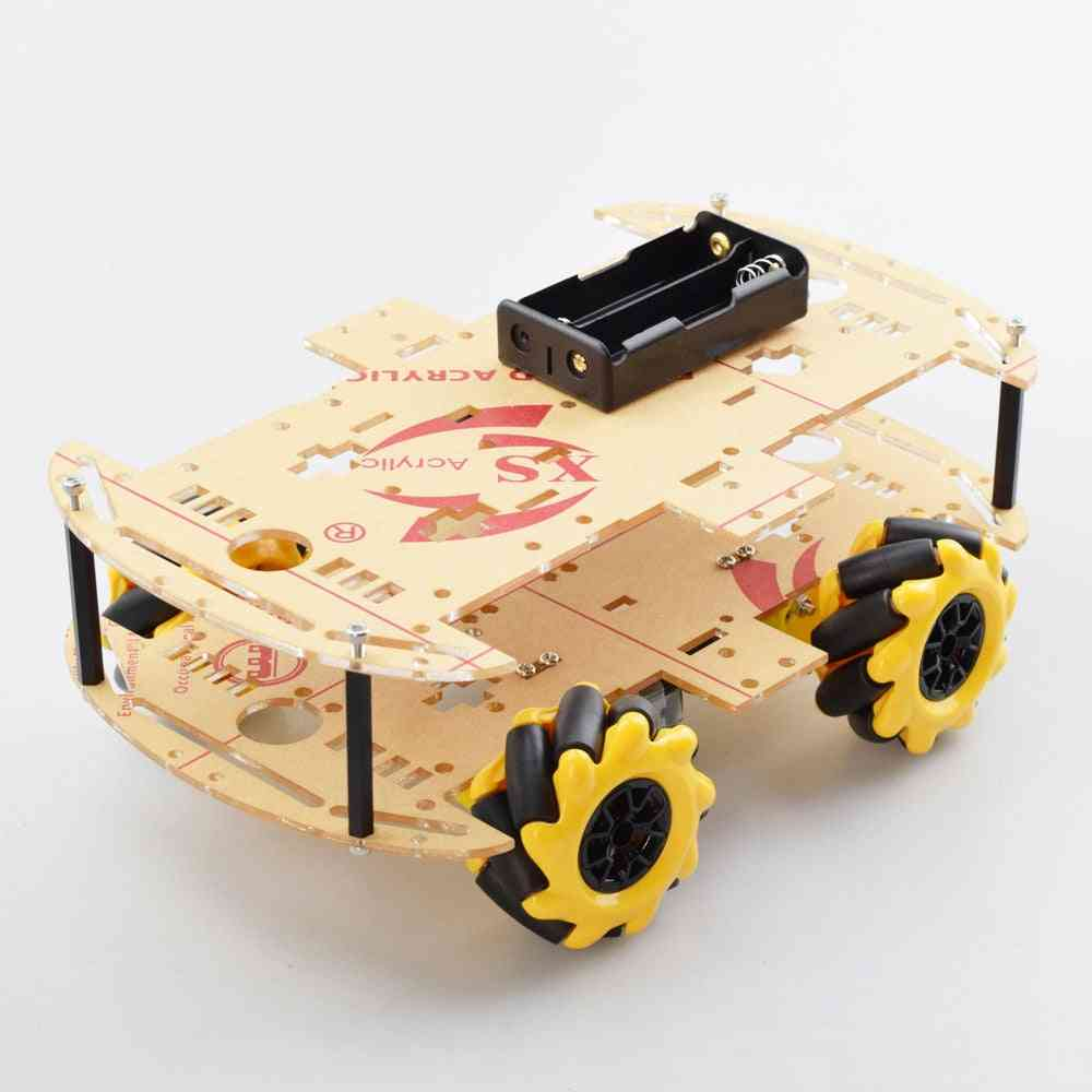 Single/double Plate Robot Car And Arduino Controller