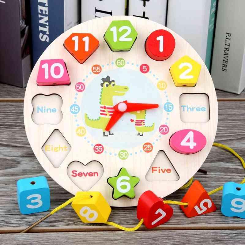 Wooden Clock - Preschool Education