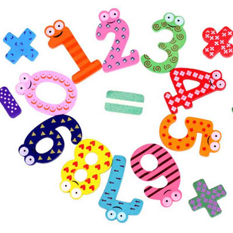 Montessori Baby Number, Magnetic Figure Stick, Mathematics Wooden Educational Kids