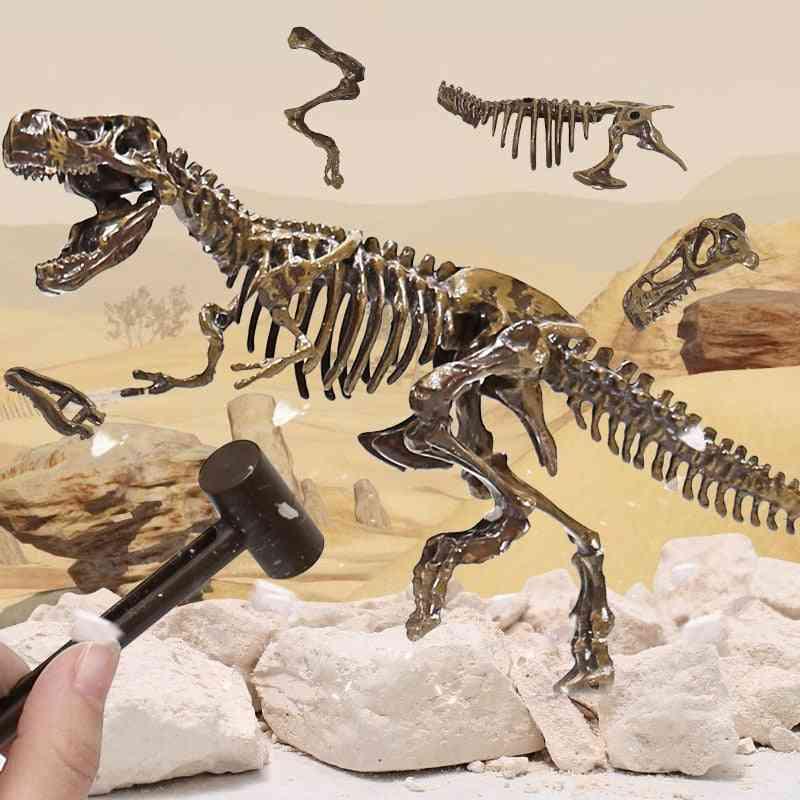 Simulation Dinosaur Archeological Fossil Toy