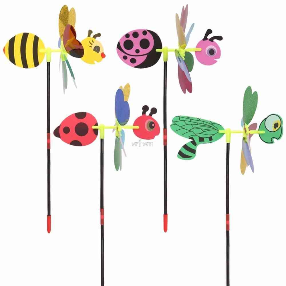 3d Windmill Wind Spinner - Home Garden Yard Decoration Kids Toy