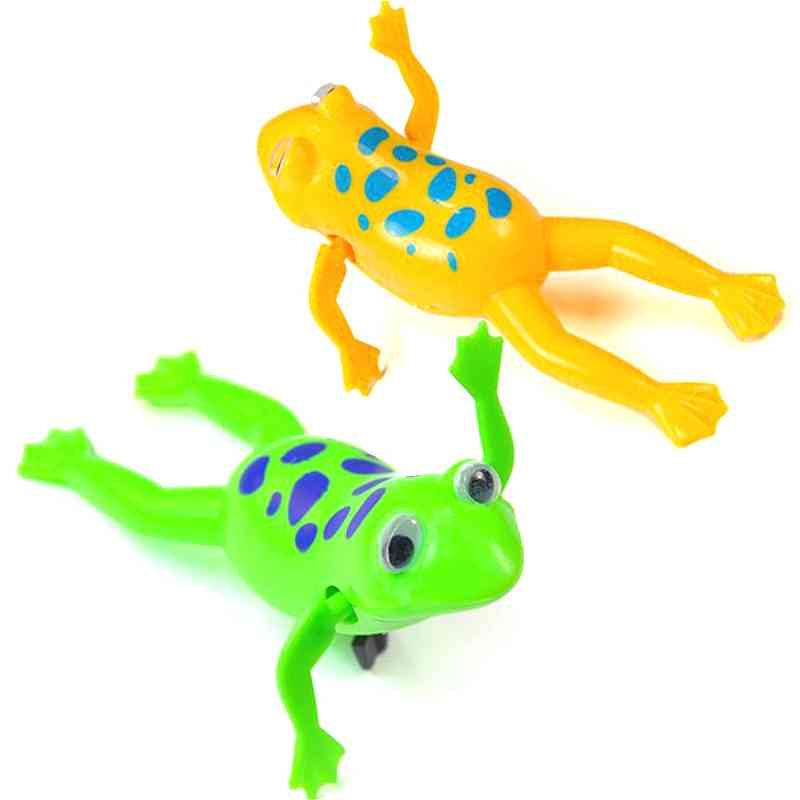 Cute Animal Strength Swimming Relax Clockwork Frog Toy