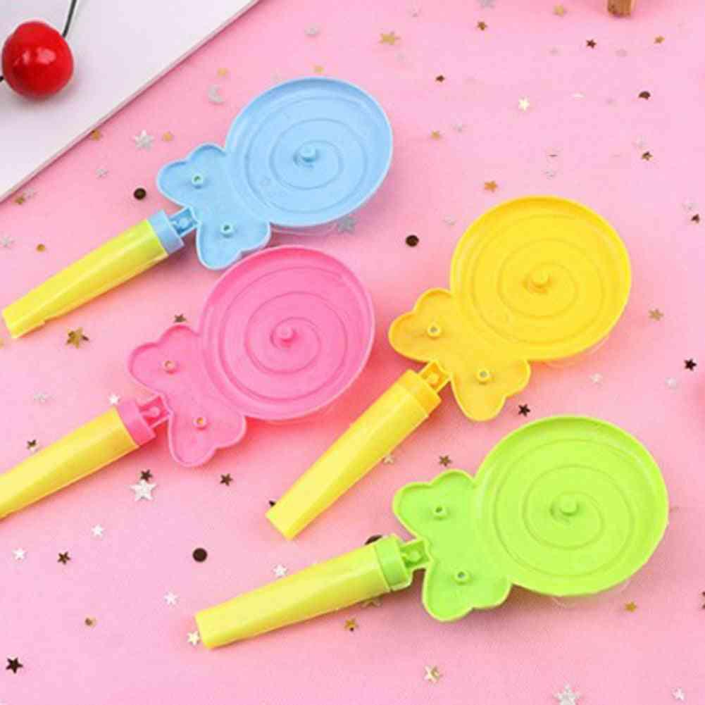 Lollipop Shape Small Windmill - Whistle Developmental Outdoor Handle