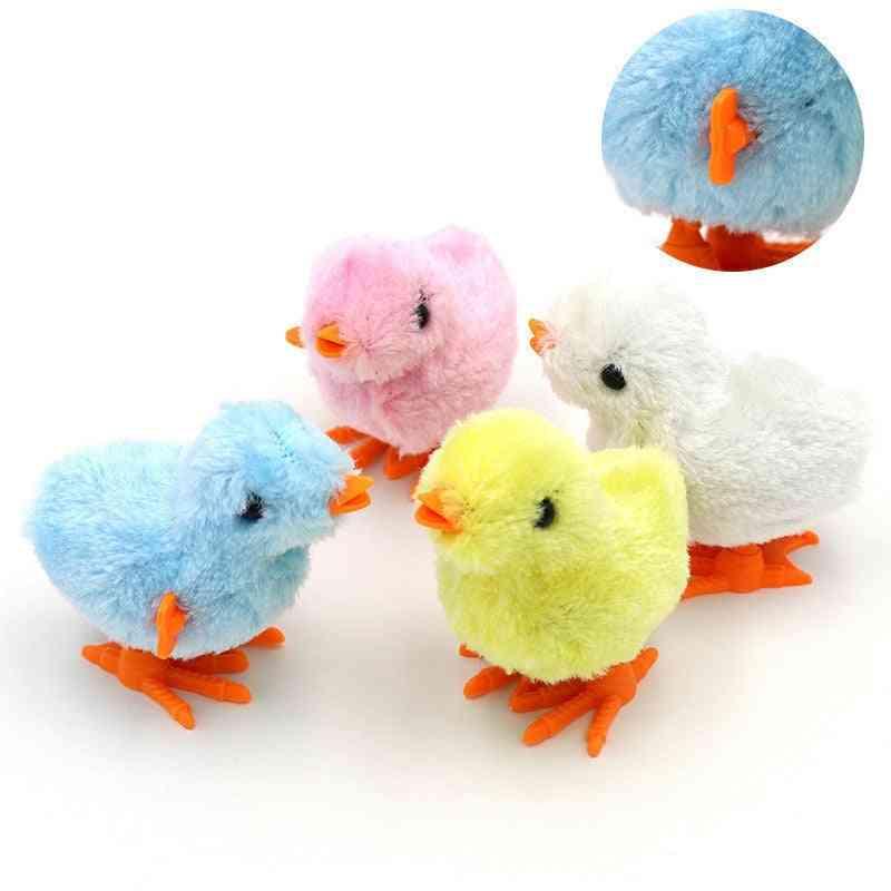 1pcs Cute Plush Wind Up Chicken - Toy