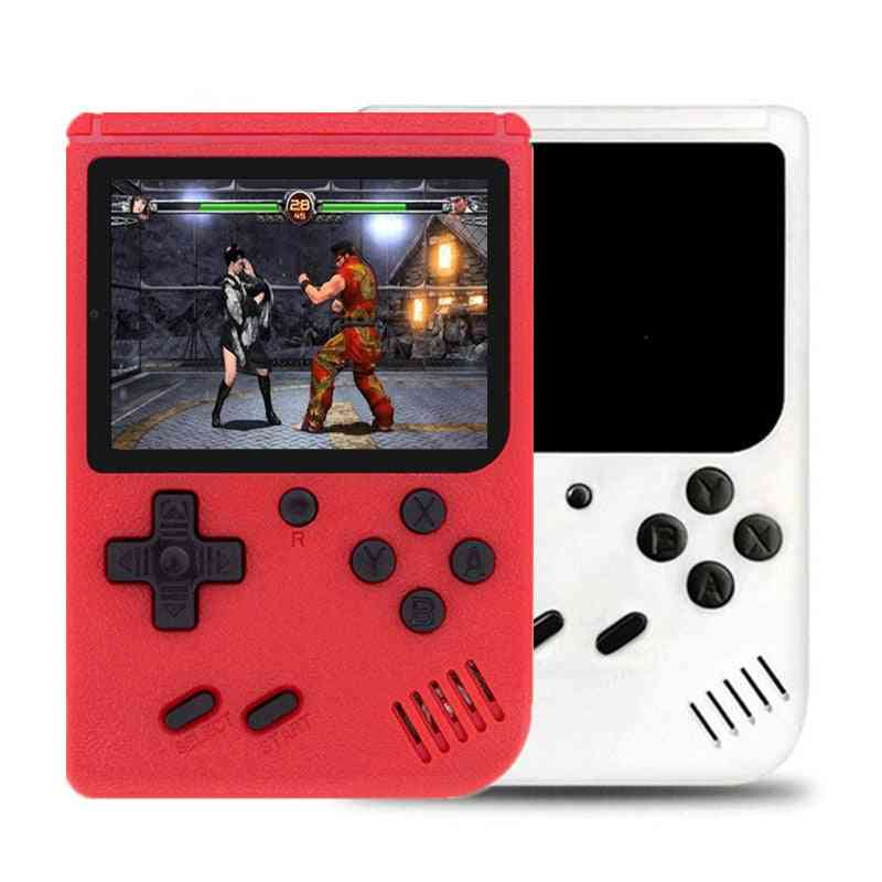 Built-in 400 Games With Battery - Handheld Game Console+gamepad, 2 Players