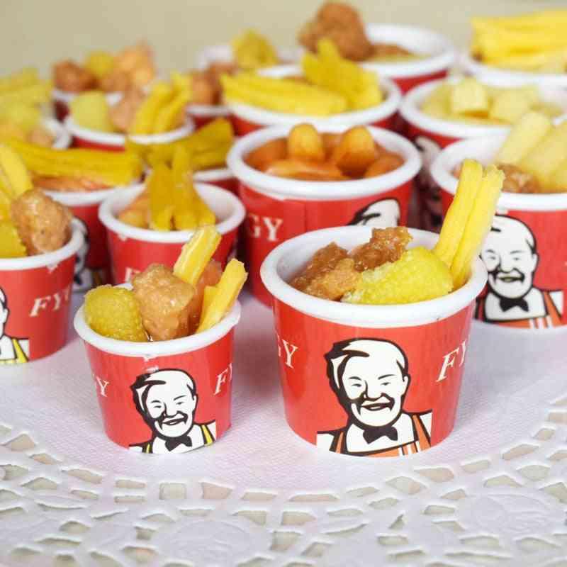 Miniature Fast Food Buckets For Kids - Kitchen Pretend