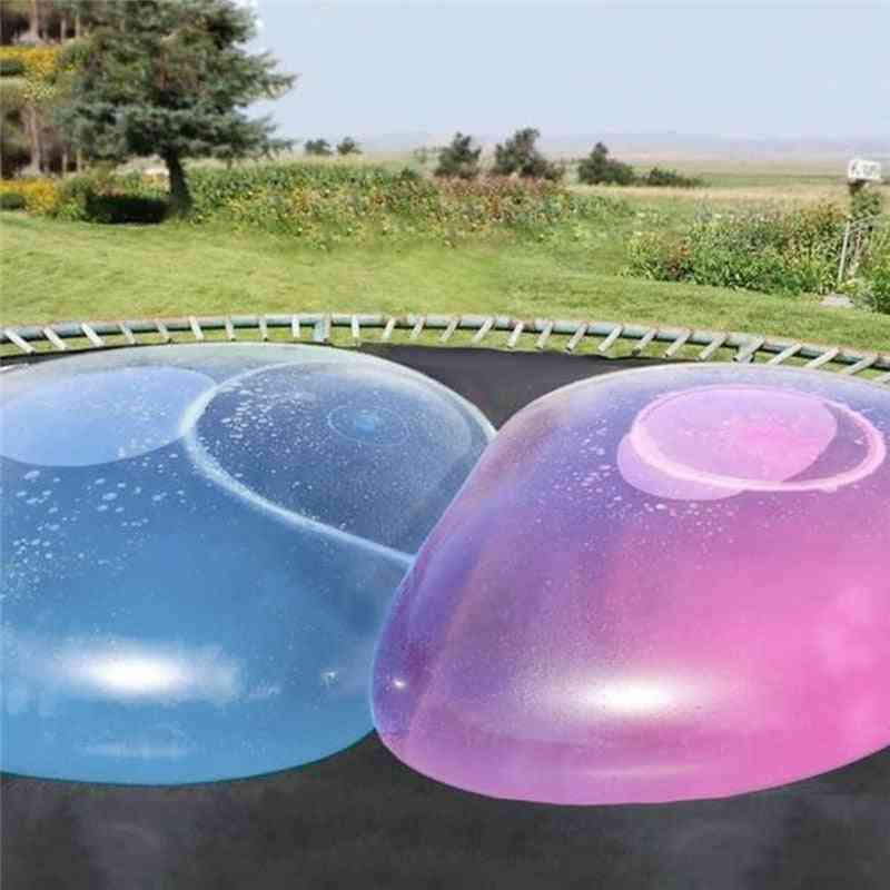 Magic Giant Bubble Ball Blow Up Balloons Toy