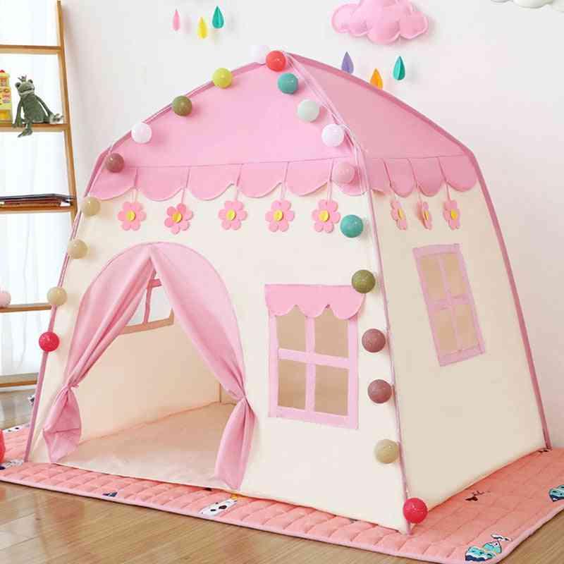Kids Indoor Outdoor Castle Tent Game House