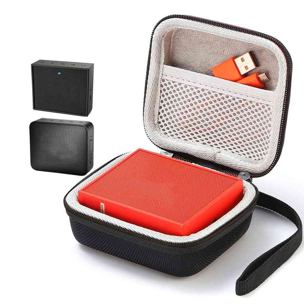 Square Speaker Case Travel Cover For Go Go 2 Bluetooth Speakers Sound Box