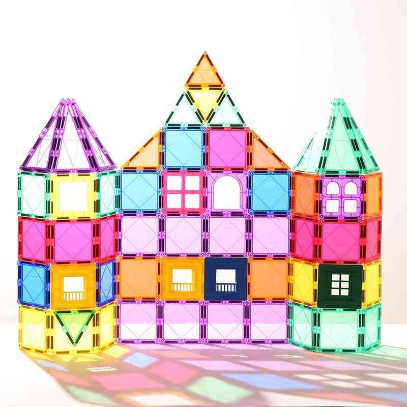 Single Magnetic Tiles, Building Blocks  Educational