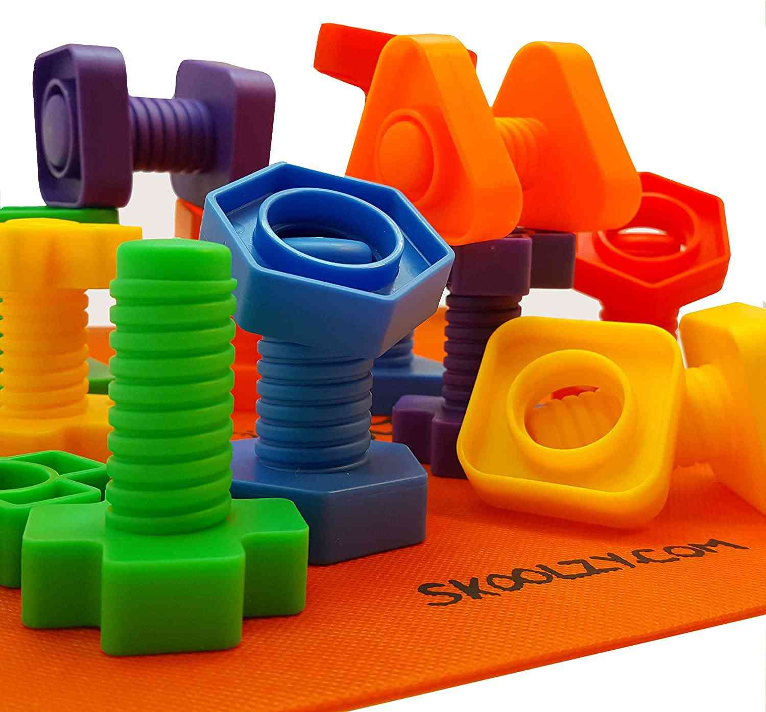 Screw Touch Pair Building Blocks - Early Education Shape Toy