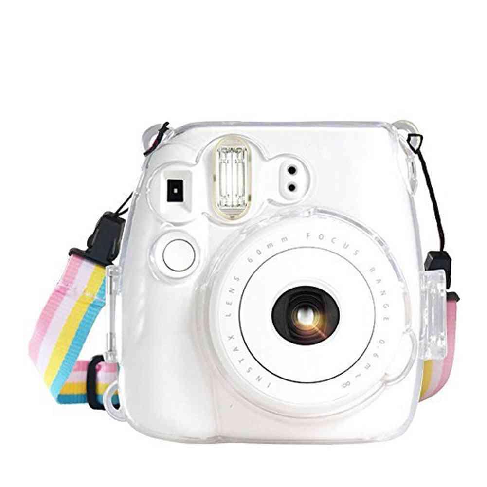 Mini 8 9 Portable Transparent Camera Case - Dustproof Protective Cover
