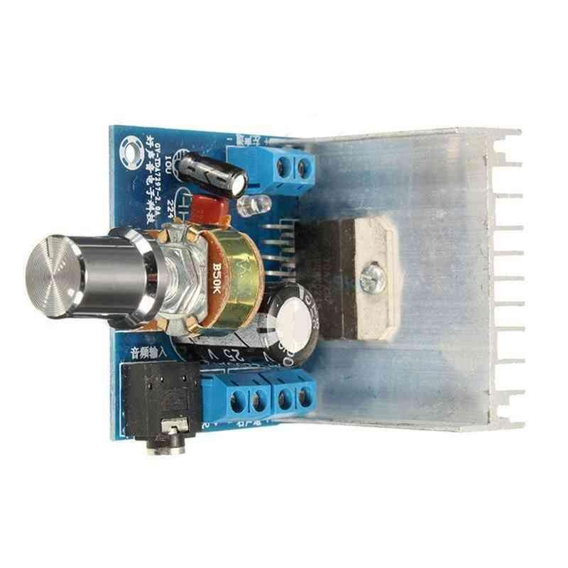 Tdc 9-15v 15w*2, Digital Audio Power Amplifier Module Stereo For Dual Channel