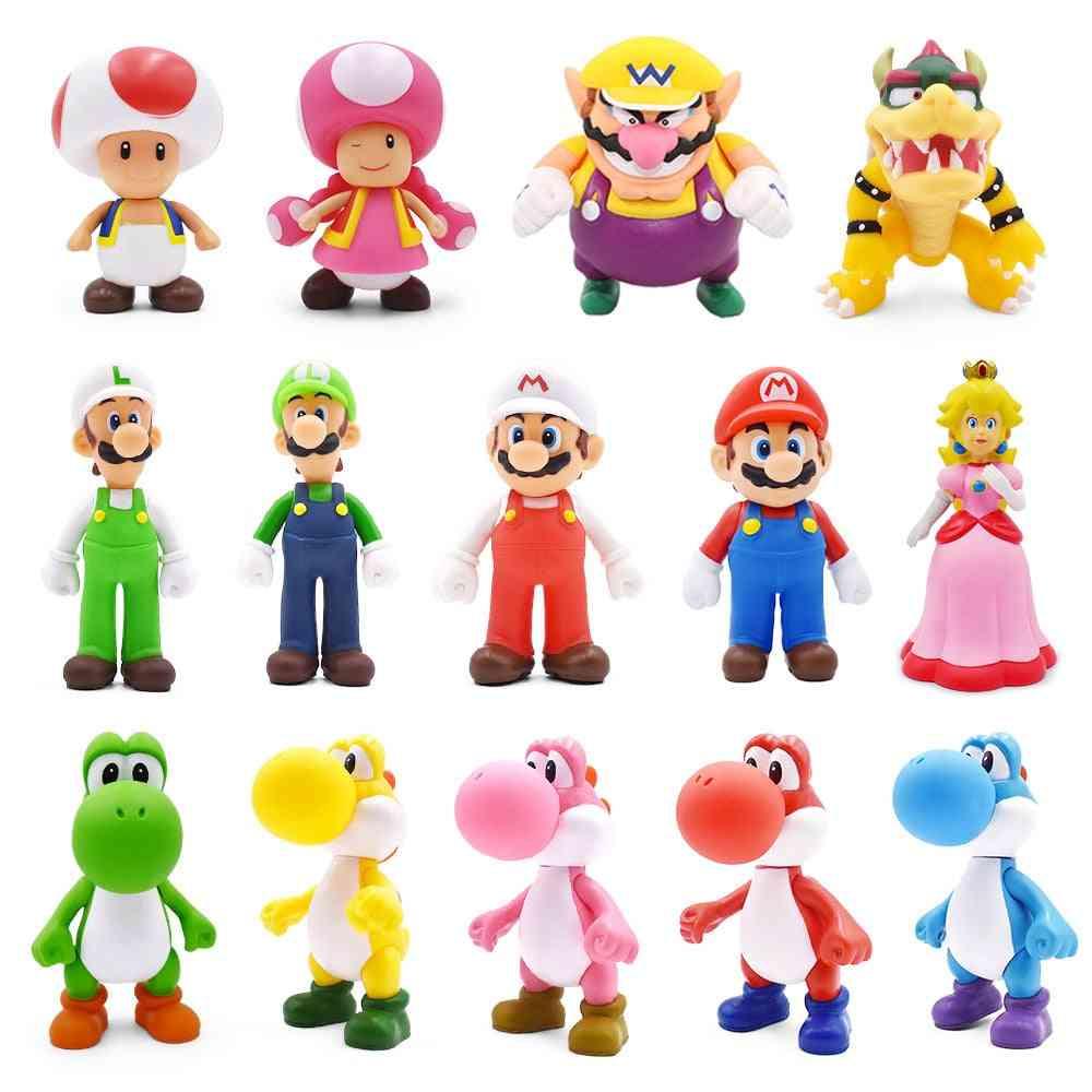 8-15cm Super Mario Figures