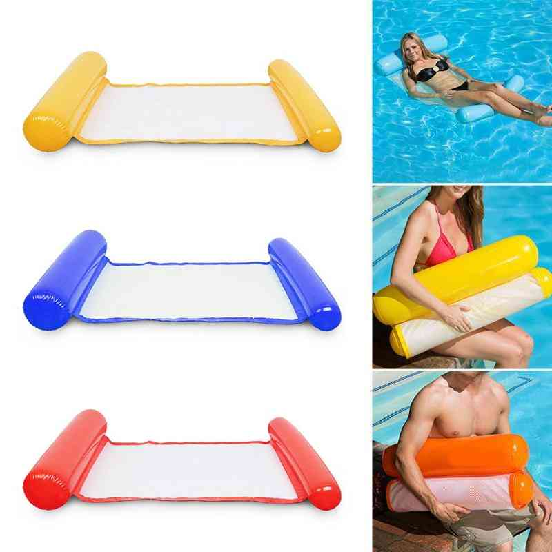 Summer Inflatable, Double Folding-floating Lounge Bed