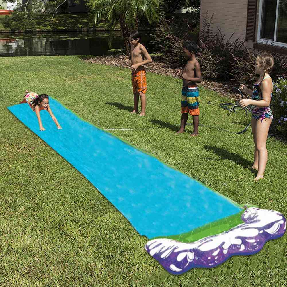 Surf 'n Double/single Water Slide For- Backyard Wave Rider