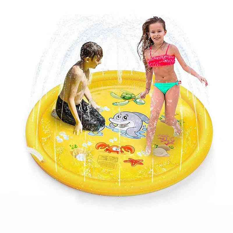 Sprinkle And Splash Play Mat, 170cm Water Splash Pad Toy
