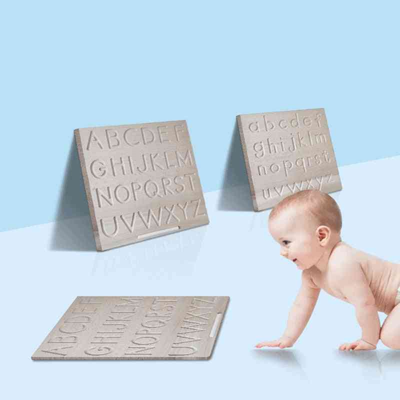Baby Educational Montessori Early Learning Number Wooden