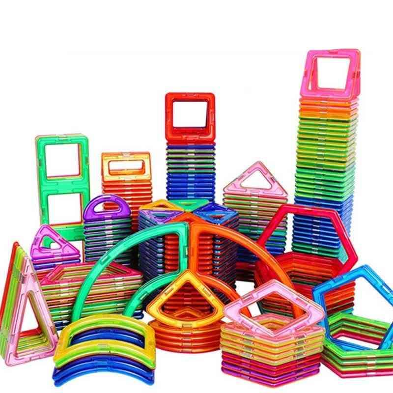 Big Size Magnetic Designer Building Single Bricks-toys