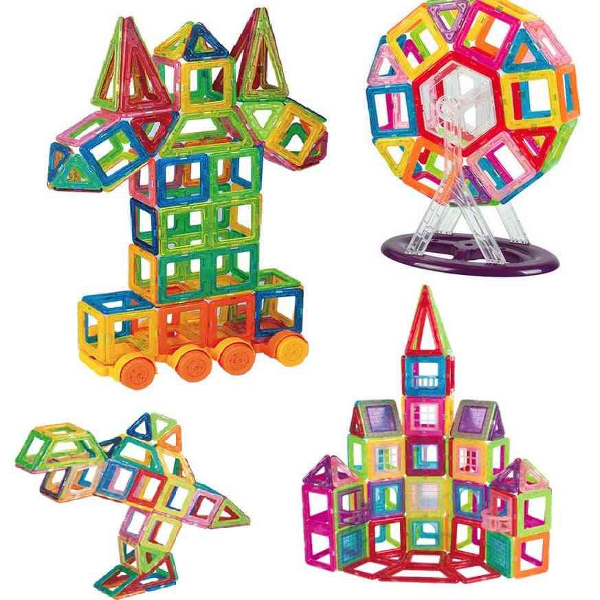 Creative Magnetic Design Blocks -intelligence Educational
