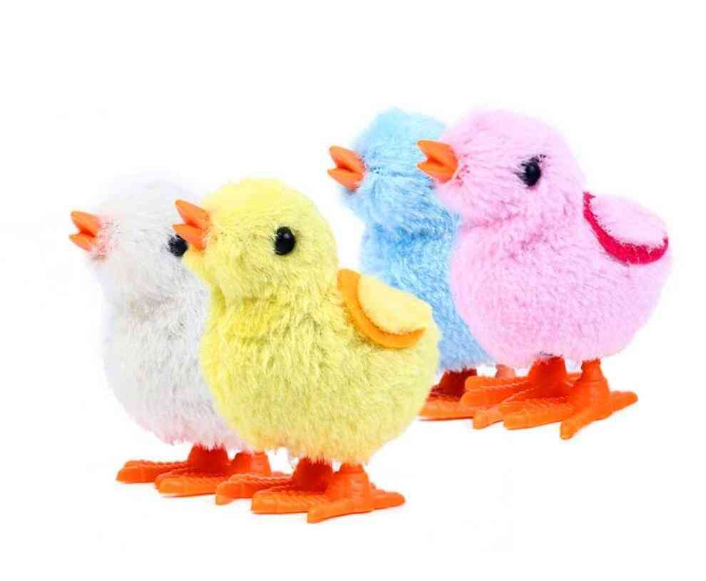 Cute Plush Wind Up Chicken Toy