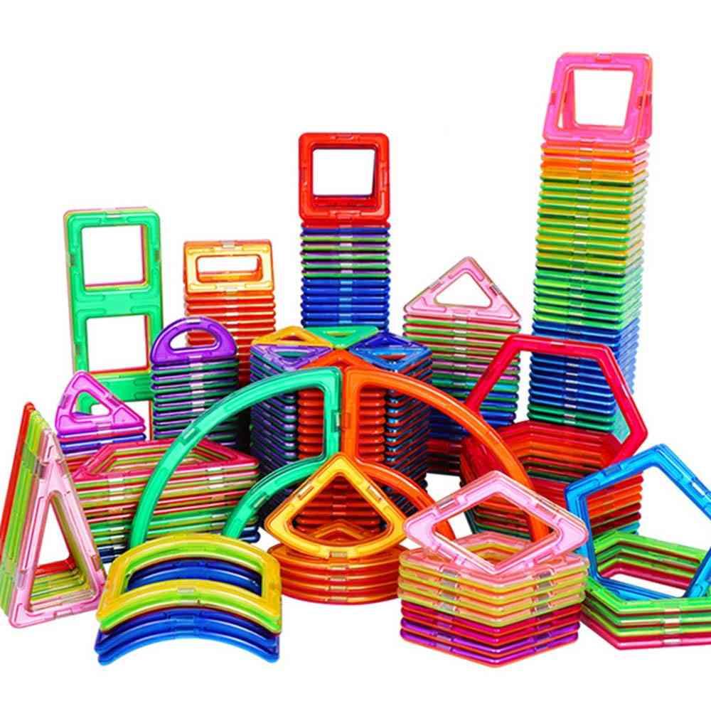 Big Size Magnetic Building Blocks- Construction