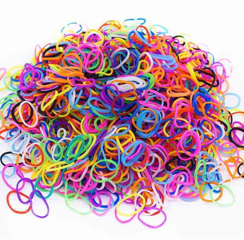 Elastic Bands For Weaving Lacing Toy