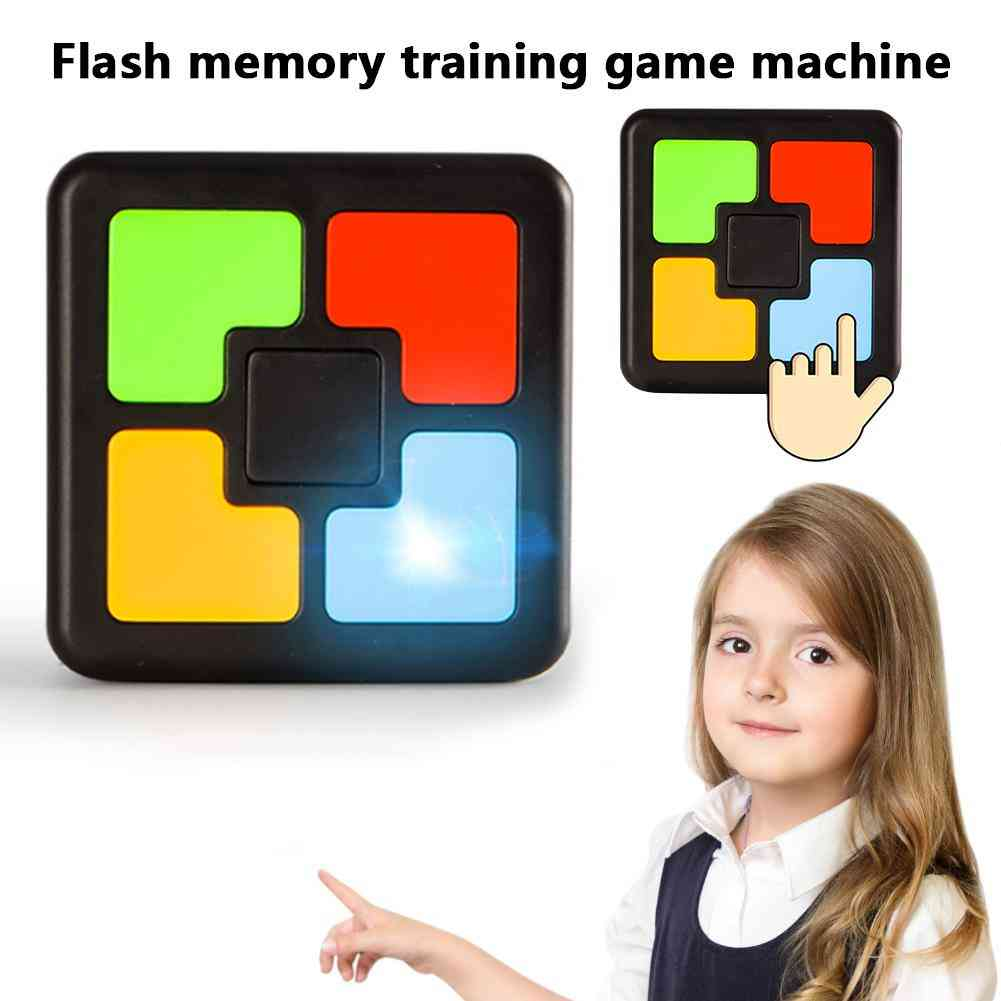Children Memory Game Console Led Light Flash Sound Interactive Educational Toy