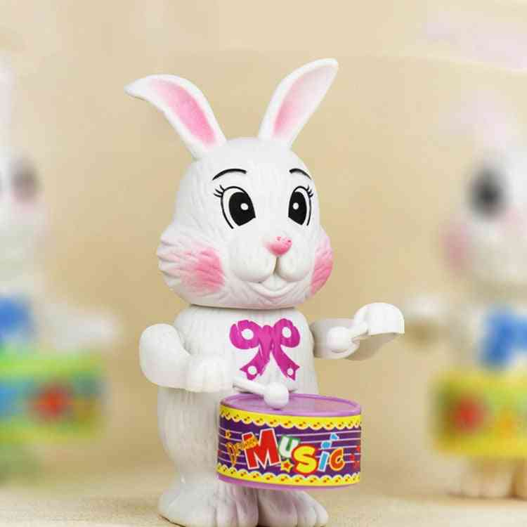 Winding Up For's Education - Rabbit Drum Toy For Kids