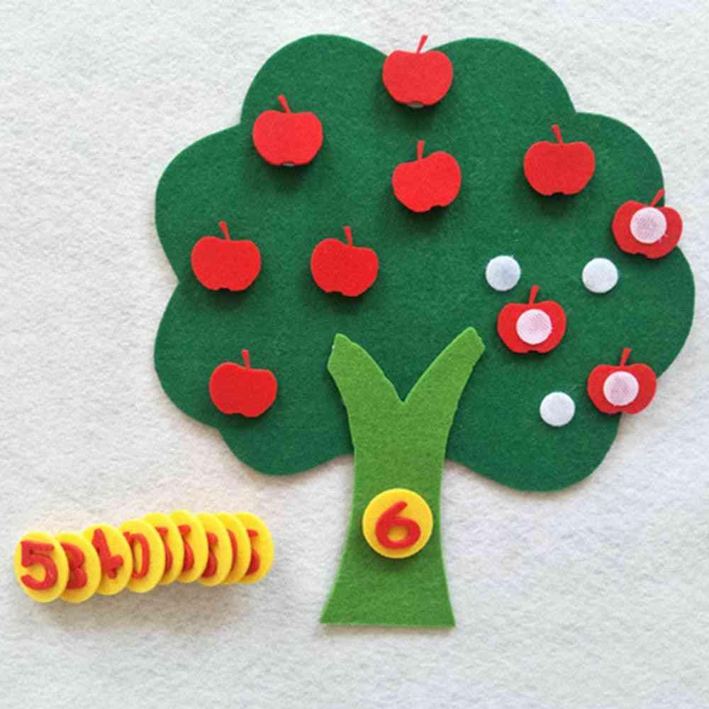 Durable Digital Cognitive Child Montessori, Education Apple Tree