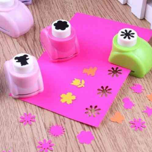 Mini Printing Paper Hand Shaper, Scrapbook Tags Cards Craft - Diy Punch Cutter Tool