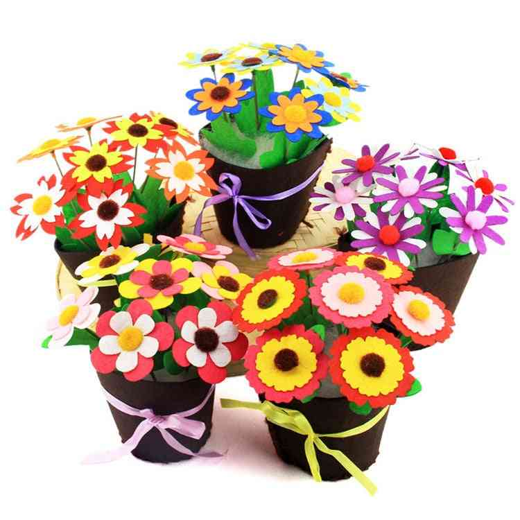 Flower Pot Crafts - Potted Plant Learning Education