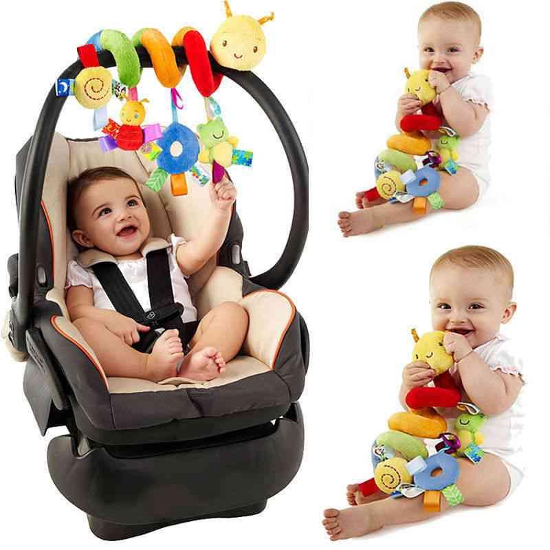 Cute Activity Spiral Crib Stroller Car Seat, Travel Hanging