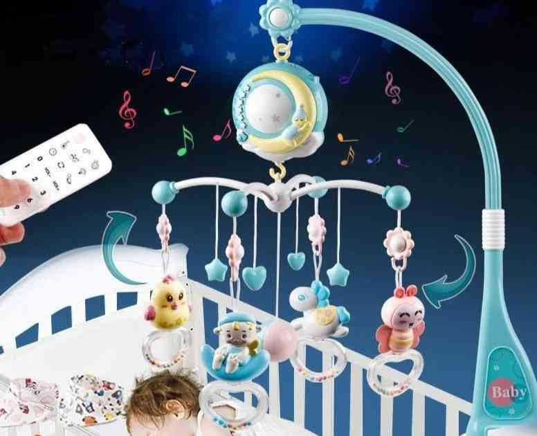 Baby Crib Mobiles Rattles, Bed Bell Carousel