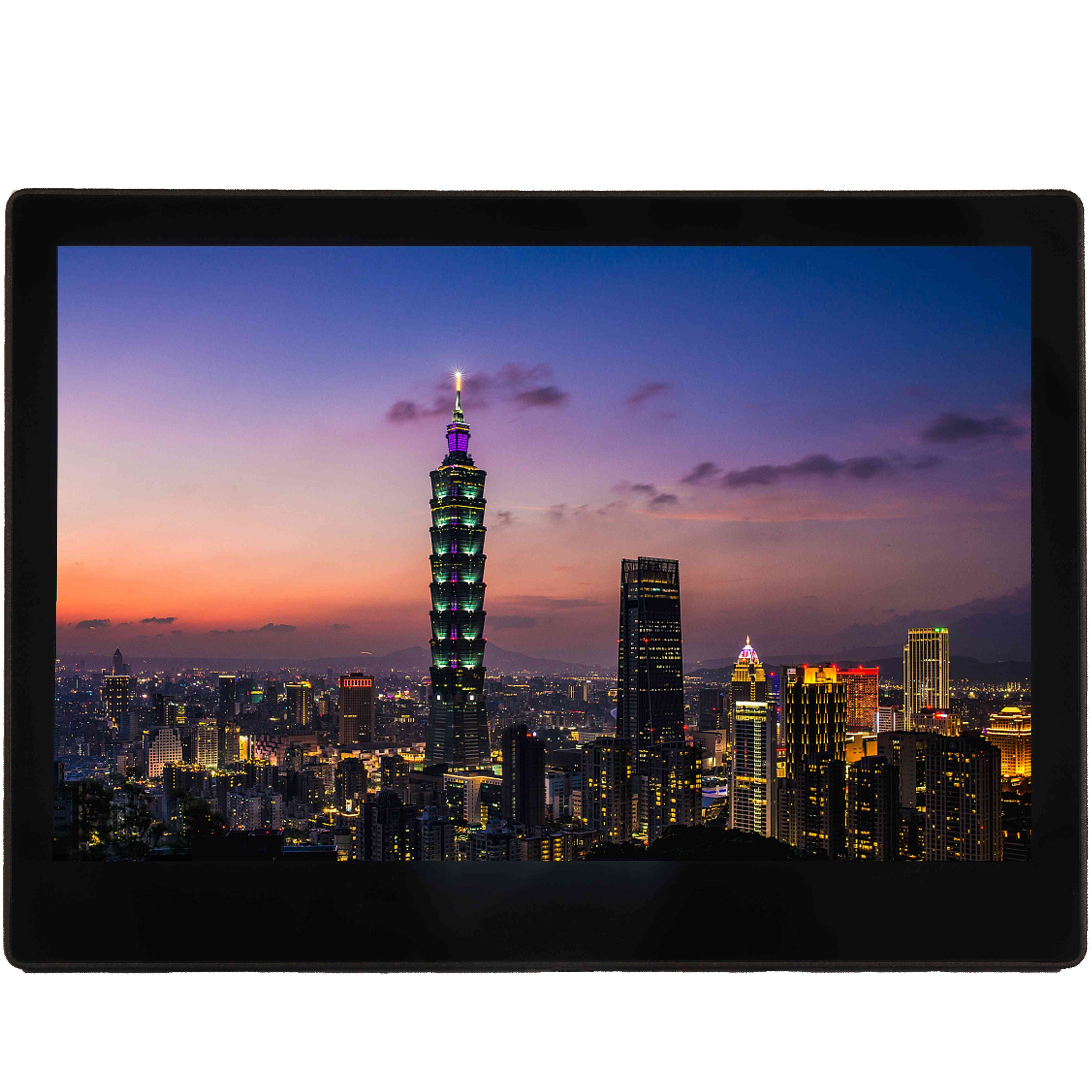 10.1 Inch Ips Hd Touch Screen - Quad Core Processor Calendar Clock