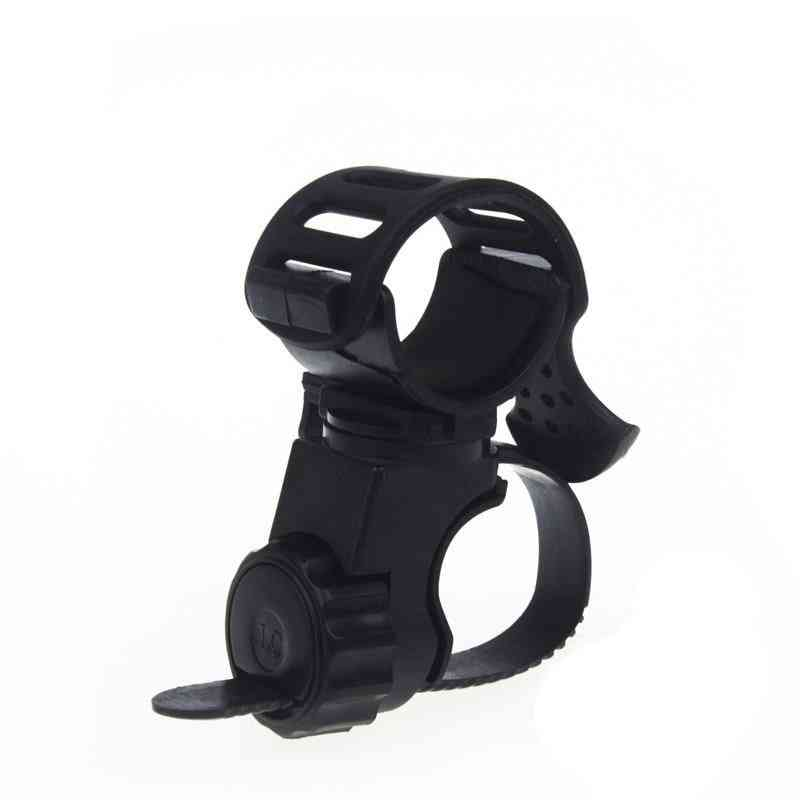 Bicycle Cycle Front Torch Mount Led, Headlight Holder Clip