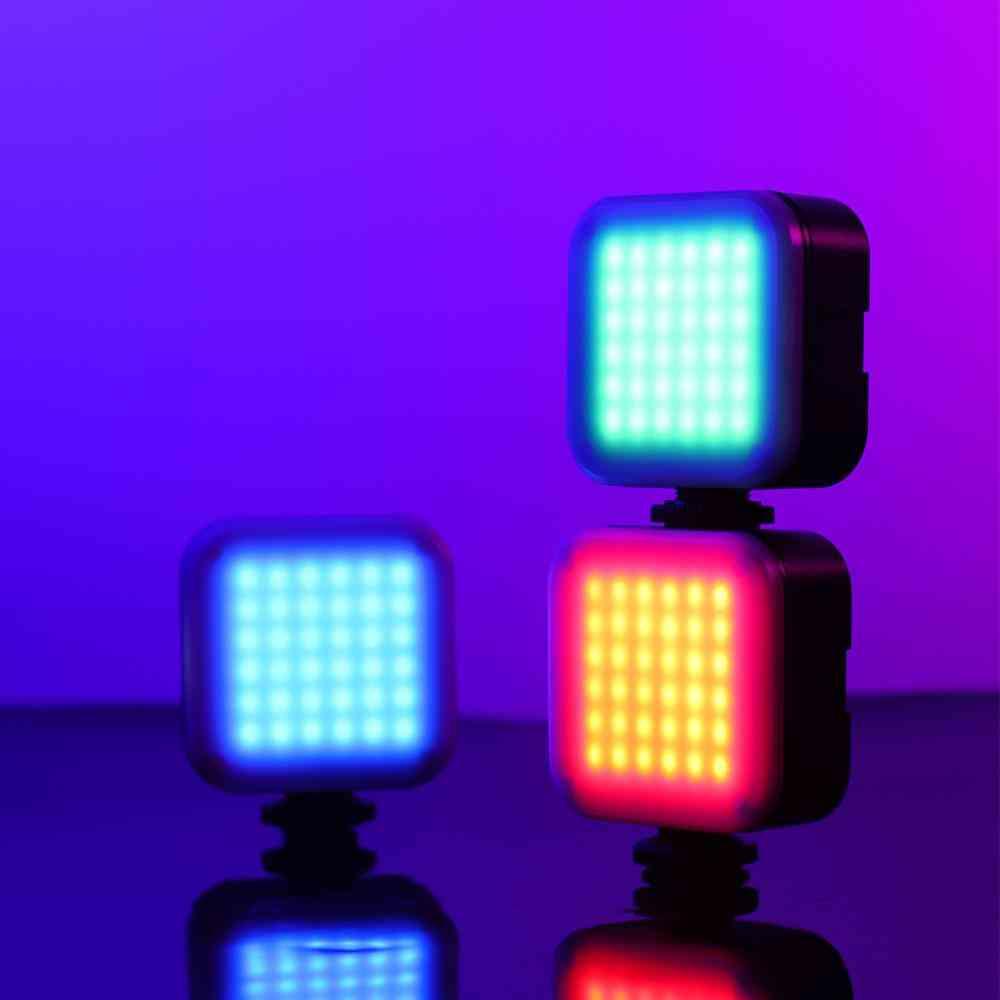 Vl49 6w Mini Led Video Light - Built-in Battery, Photographic Lighting