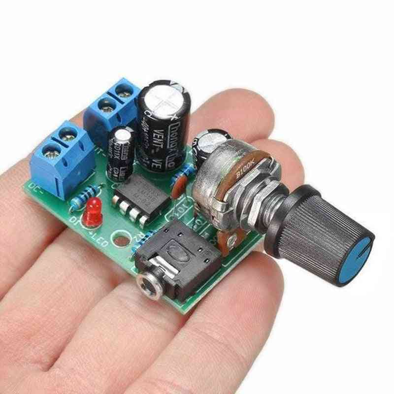 Lm386 10w Audio Amplifier Board - Mini Amp Module For Adjustable Volume
