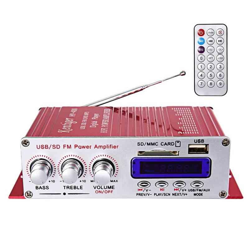 Hi-fi Car Stereo Amplifier, Radio Mp3 Speaker
