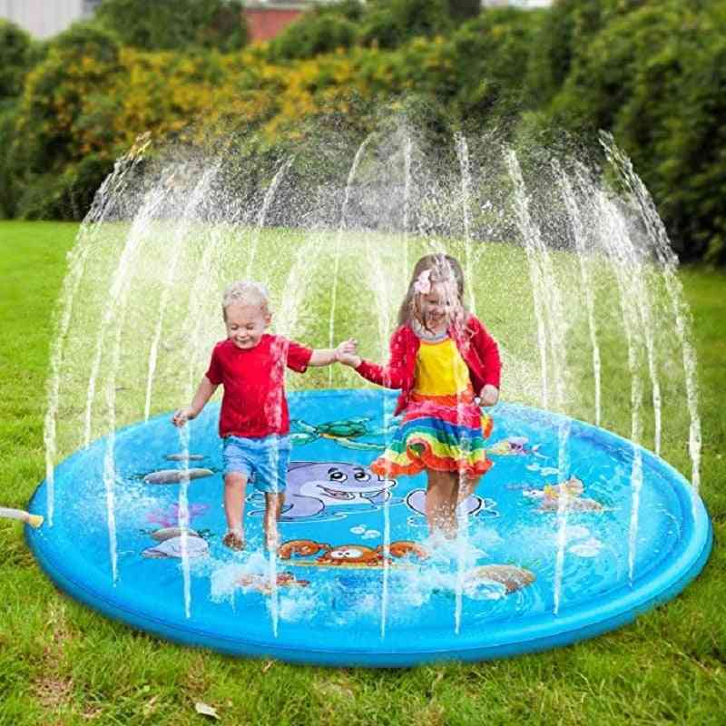 Inflatable Spray Water Cushion- Mat Games Pad