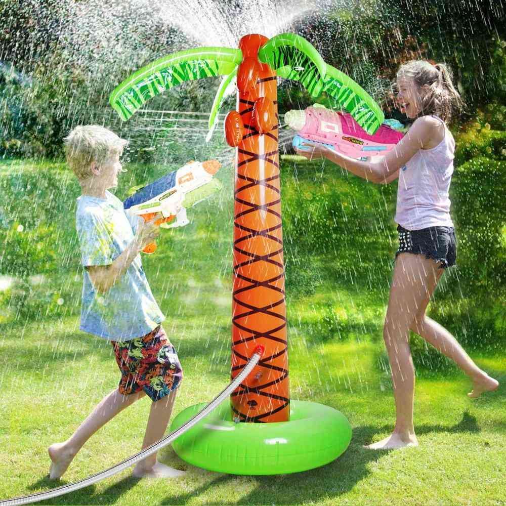 Inflatable Sprinkler Cushion For  Outdoor, Splash Pad Toys For Baby
