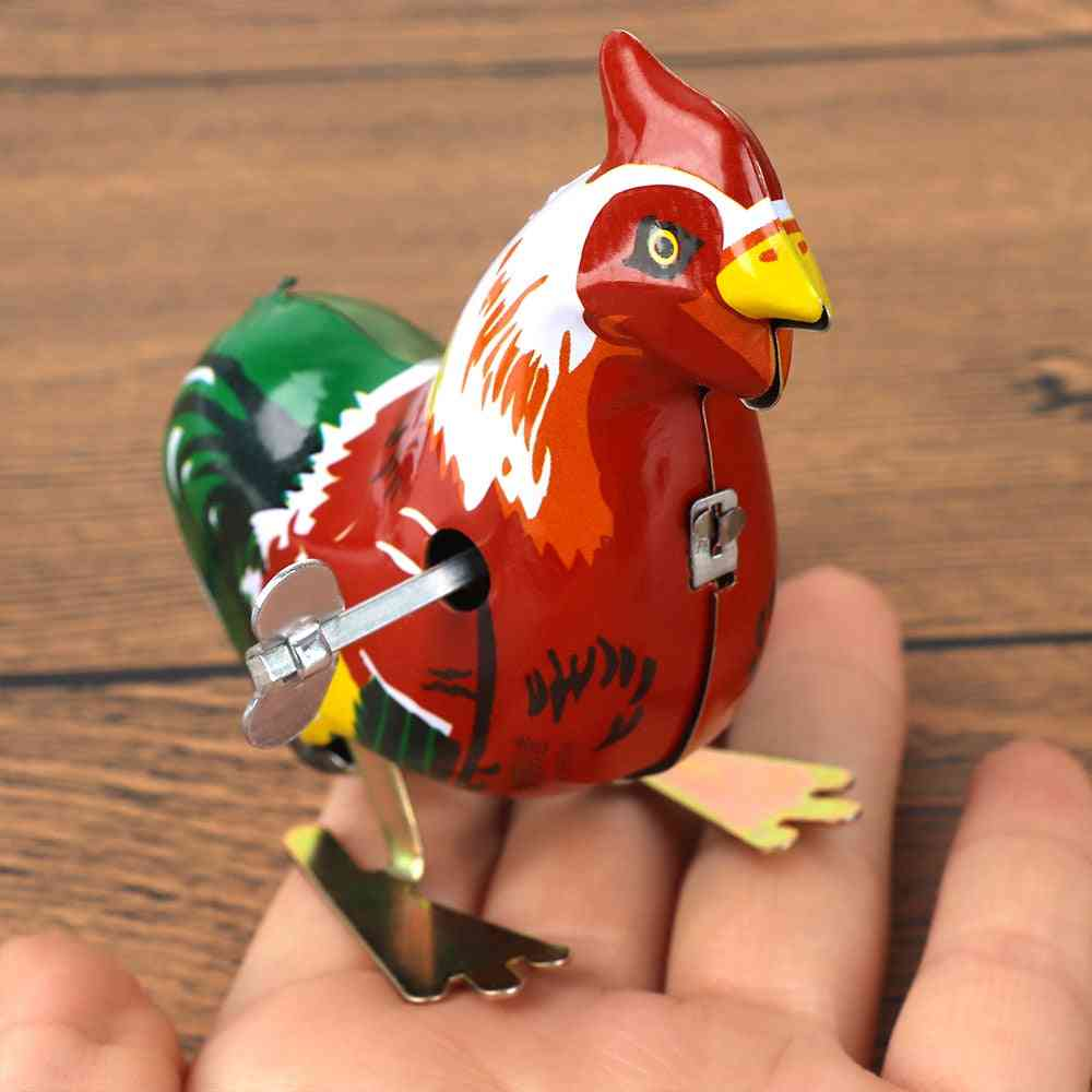 Cartoon Cock Animal Clockwork Wind Up - Early Educational Toy Unisex For