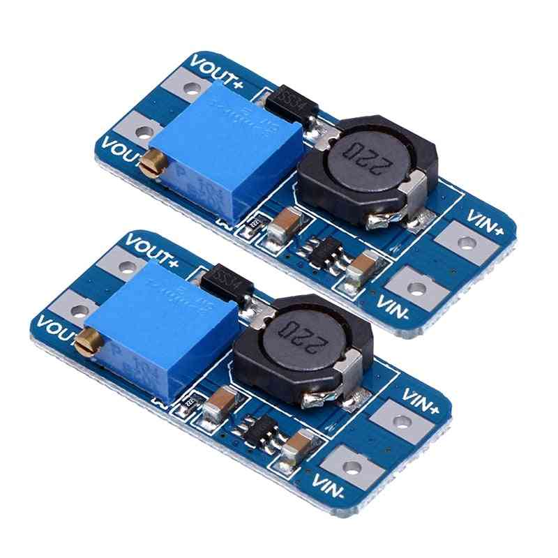 Mt3608 Dc-dc Adjustable Step-up Power Converter Module