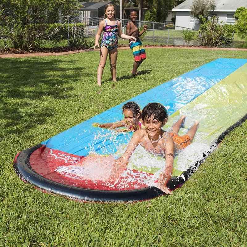 Giant Splash Sprint Water Slide Fun Lawn Water Pool For Kids