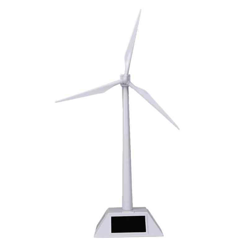 Desktop Model Solar Powered Windmills Turbine For Education